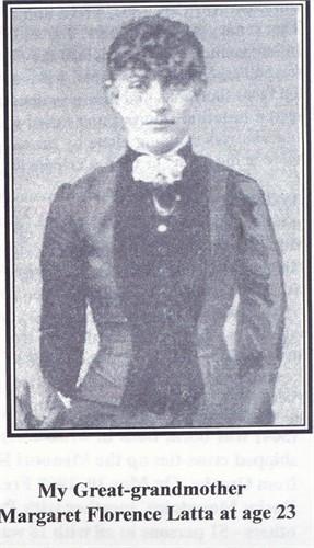 Margaret Florence Latta Portrait