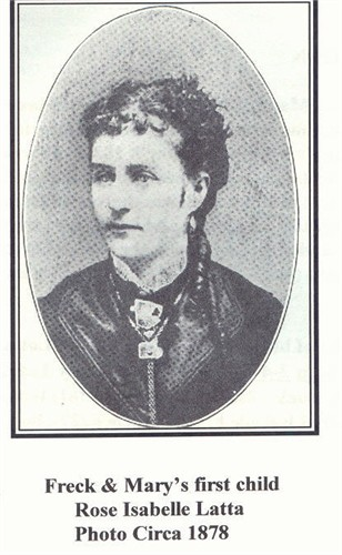 Rose Isabelle Latta Portrait