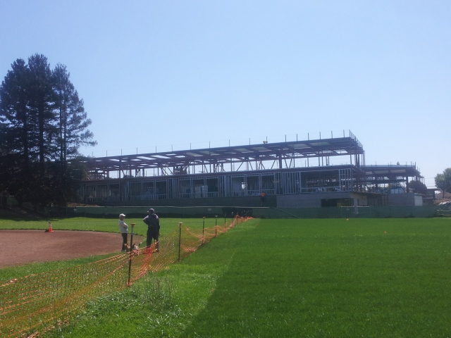 Fred Korematsu Middle School Under Construction - Aug 26, 2014