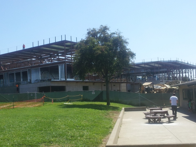Fred Korematsu Middle School Under Construction - Aug 26, 2014
