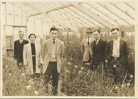 Several Korematsu family members in their nursery, circa 1939.  (Source: Korematsu Institute)