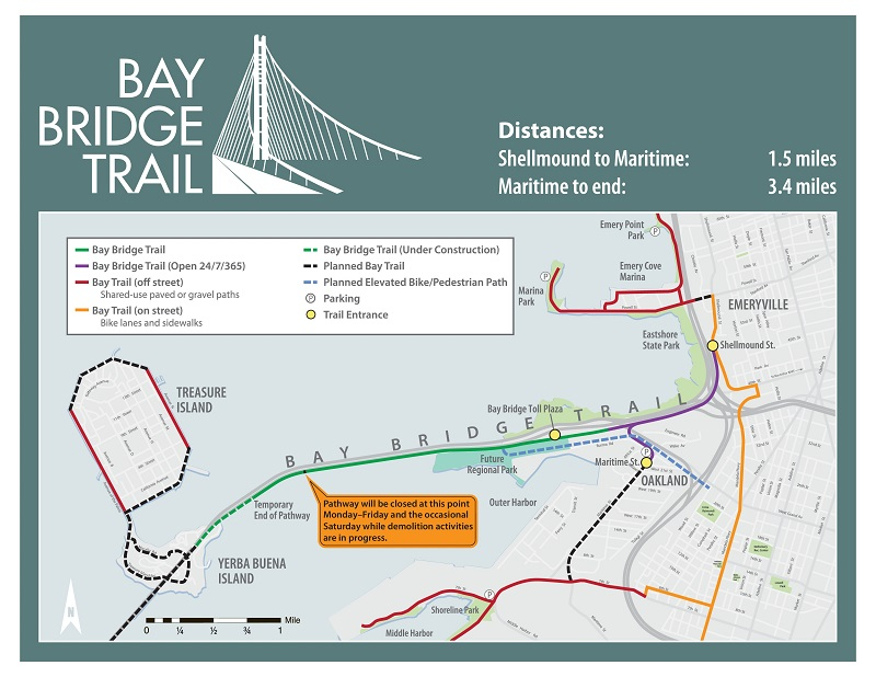 Bay Bridge Bike Trail (2/6)