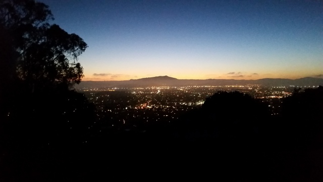 Mt Tam after sunset