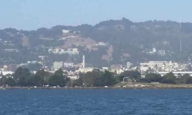 UC Berkeley from Emeryville Marina