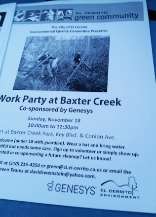Baxter Creek